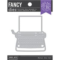 Hero Arts - Fancy Dies - Typewriter