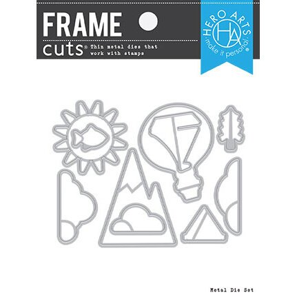 Hero Arts - Dies - Frame Cuts - You Lift Me Up