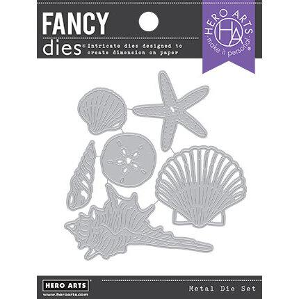 Hero Arts - Fancy Dies - Seashells