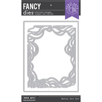 Hero Arts - Fancy Dies - Swirling Tide Border with Frame