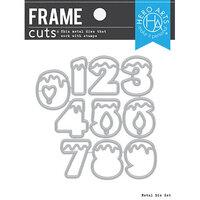Hero Arts - Frame Cuts - Dies - Number Candles