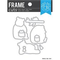 Hero Arts - Frame Cuts - Dies - Birthday Panda