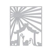 Hero Arts - Christmas - Fancy Dies - Nativity Cover Plate