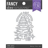 Hero Arts - Fancy Dies - Christmas Tree Pieces