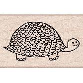 Hero Arts - Woodblock - Wood Mounted Stamps - Turtle