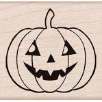 Hero Arts - Woodblock - Halloween - Wood Mounted Stamps - Country Pumpkin