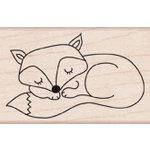 Hero Arts - Woodblock - Wood Mounted Stamps - Sleepy Fox