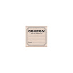 Hero Arts - Woodblock - Wood Mounted Stamps - Entitled Coupon