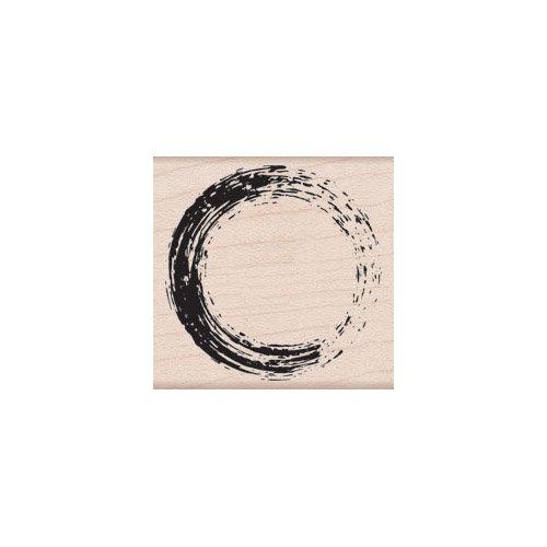 Hero Arts - Woodblock - Wood Mounted Stamps - Painted Circle