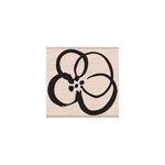 Hero Arts - Woodblock - Wood Mounted Stamps - Flower Sketch