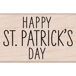 Hero Arts - Woodblock - Wood Mounted Stamps - Happy St Patricks Day