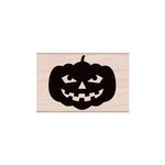 Hero Arts - Woodblock - Halloween - Wood Mounted Stamps - Smiling Jack 'o' Lantern