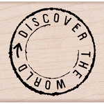Hero Arts - Woodblock - Wood Mounted Stamps - Discover the World