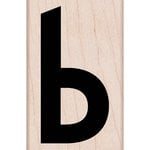 Hero Arts - Woodblock - Wood Mounted Stamps - Lowercase B
