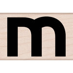 Hero Arts - Woodblock - Wood Mounted Stamps - Lowercase M