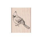 Hero Arts - Woodblock - Wood Mounted Stamps - Cardinal