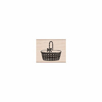 Hero Arts - Woodblock - Wood Mounted Stamps - Picnic Basket