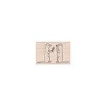 Hero Arts - Woodblock - Wood Mounted Stamps - Meerkat Pair
