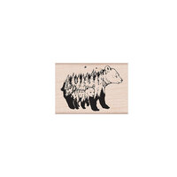 Hero Arts - Woodblock - Wood Mounted Stamps - Celebrate Earth Bears
