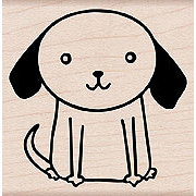 Hero Arts - Woodblock - Wood Mounted Stamps - Big Dog, CLEARANCE