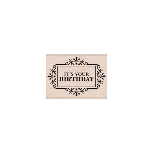 Hero Arts - Woodblock - Wood Mounted Stamps - It's Your Birthday