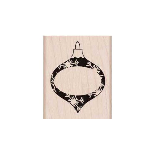 Hero Arts - Woodblock - Christmas - Wood Mounted Stamps - Message Ornament