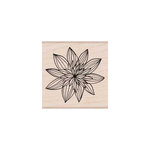 Hero Arts - Woodblock - Wood Mounted Stamps - Night Flower