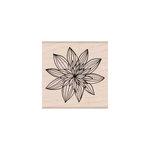 Hero Arts - Woodblock - Wood Mounted Stamps - Night Flower