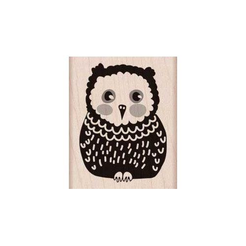 Hero Arts - Woodblock - Wood Mounted Stamps - Baby Owl