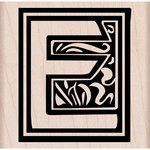 Hero Arts - Woodblock - Wood Mounted Stamps - Illuminated E