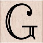 Hero Arts -Woodblock - Wood Mounted Stamps - Engraved G