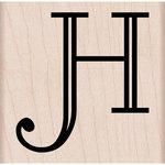 Hero Arts - Woodblock - Wood Mounted Stamps - Engraved H