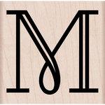 Hero Arts - Woodblock - Wood Mounted Stamps - Engraved M