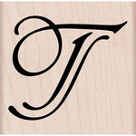 Hero Arts - Woodblock - Wood Mounted Stamps - Stylized T