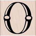 Hero Arts - Woodblock - Wood Mounted Stamps - Decorative O