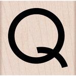Hero Arts - Woodblock - Wood Mounted Stamps - Art Deco Q