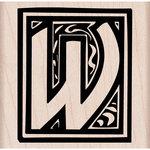Hero Arts - Woodblock - Wood Mounted Stamps - Illuminated W