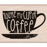 Hero Arts - Woodblock - Wood Mounted Stamps - You're My Cup of Coffee