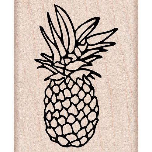 Hero Arts - Woodblock - Wood Mounted Stamps - Pineapple