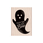 Hero Arts - Woodblock - Halloween - Wood Mounted Stamps - You're My Boo Ghost