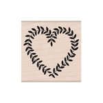 Hero Arts - 2016 Valentines Collection - Woodblock - Wood Mounted Stamps - Heart Vine
