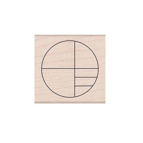 Hero Arts - Woodblock - Wood Mounted Stamps - Small Circle Grid