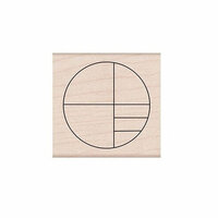 Hero Arts - Woodblock - Wood Mounted Stamps - Small Circle Grid