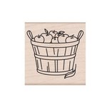 Hero Arts - Wood Block - Wood Mounted Stamp - Basket of Apples