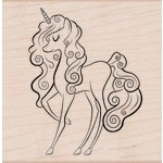 Hero Arts - Woodblock - Wood Mounted Stamps - Unicorn