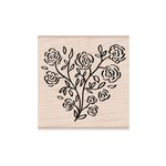 Hero Arts - Woodblock - Wood Mounted Stamps - Rose Heart
