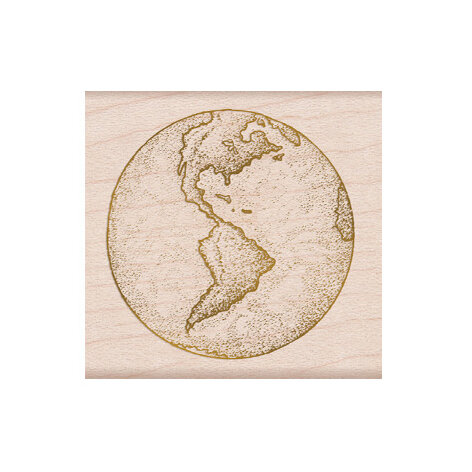 Hero Arts - From The Vault - Woodblock - Wood Mounted Stamps - Earth
