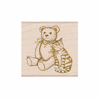 Hero Arts - From The Vault - Woodblock - Wood Mounted Stamps - Bear and Kitty