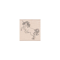 Hero Arts - Woodblock - Wood Mounted Stamps - Wild Unicorn