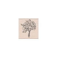Hero Arts - Woodblock - Wood Mounted Stamps - Sweetpea Bouquet